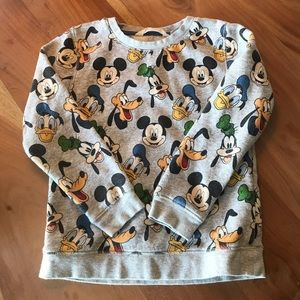 Mickey, Pluto and Donald duck sweater